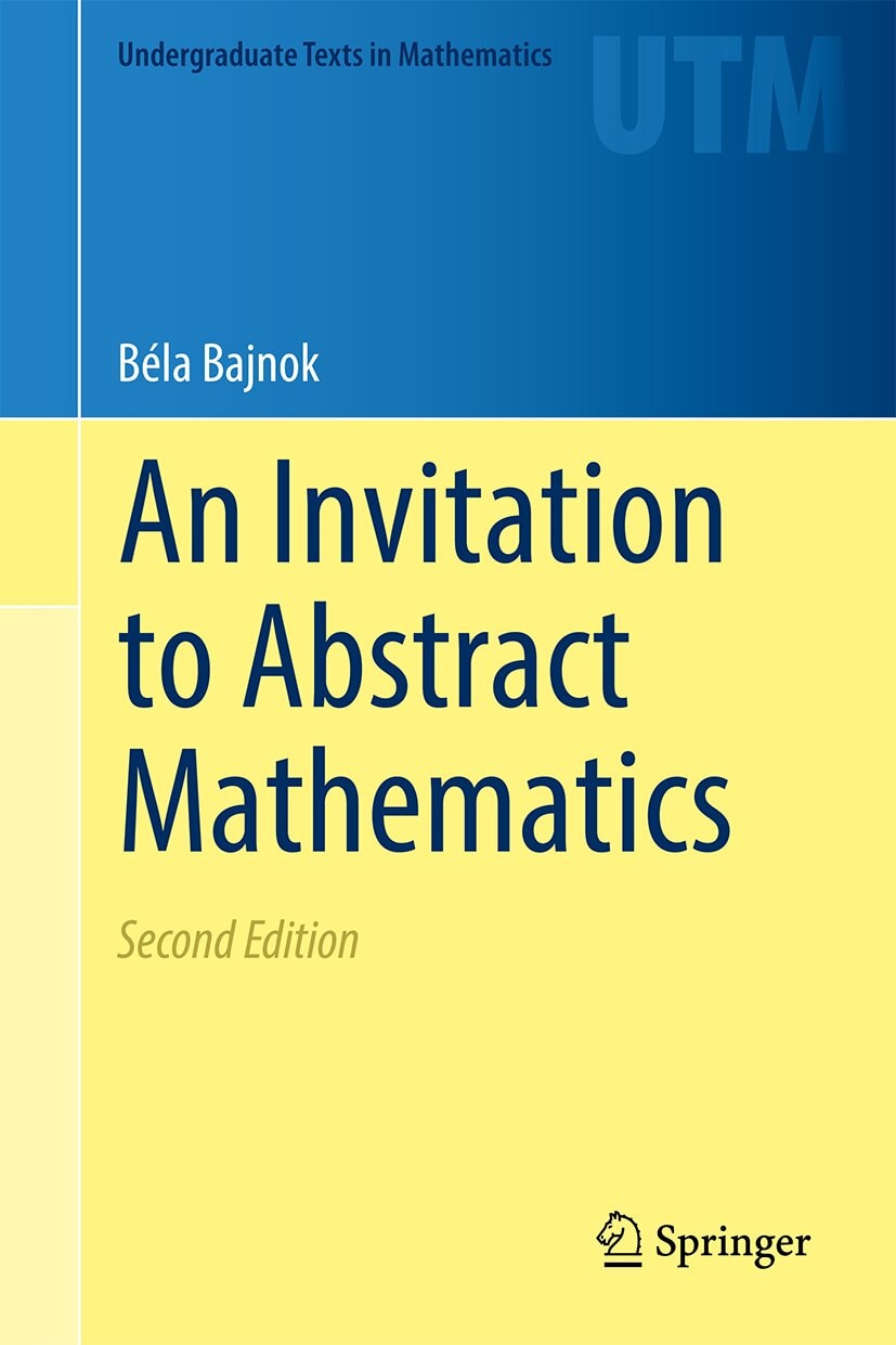 An Introduction to abstract Mathematics.